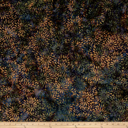 Island Batik Twilight Chic Mum Mixed Berry Fabric