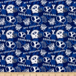 NCAA Brigham Young Cougars 1178 Tone on Tone