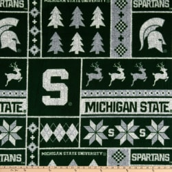 NCAA-Michigan State 1182 Ugly Sweater Fleece