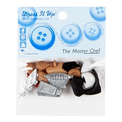The Master Chef 9ct Button Pack