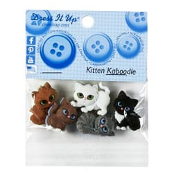 Sew Cute Kit N Kaboodle 5ct Button Pack
