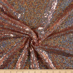 Glitz Sequin Hologram Rose Gold Hologram