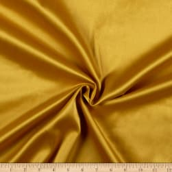 Stretch L'Amour Satin Mustard Fabric