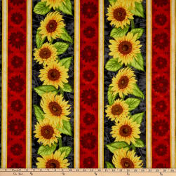 Wilmington Jardin Du Soleil Repeating Stripe Multi