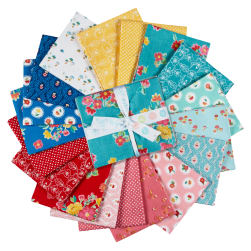Riley Blake Hand Picked Fat Quarter Bundle, 18