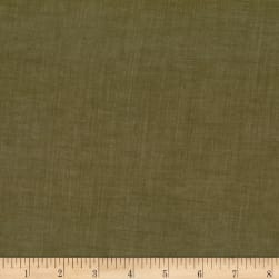 Kaufman Sophia Washed Lawn Solid O.D. Green