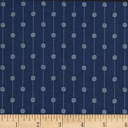 Splendid Home Pedro Jacquard Dark Navy