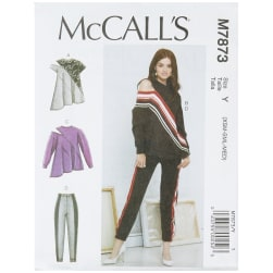 McCall's M7873 Misses' Tops and Pants Y (Sizes