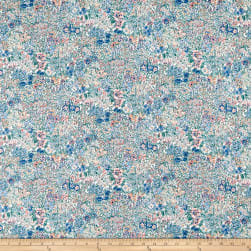 Liberty Fabrics Tana Lawn A Castle Garden Purple/Multi
