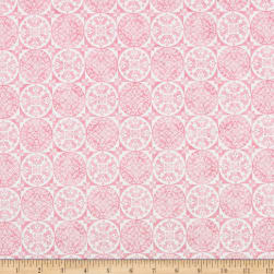 Riley Blake Sweet Melody Medallion Pink