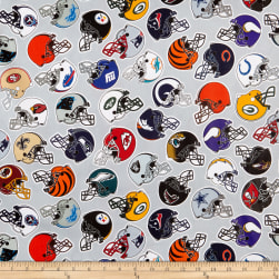 NFL Cotton Broadcloth All Teams Multi Fabric