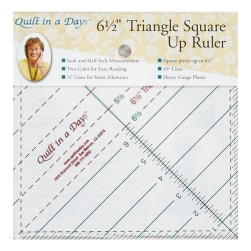 Triangle Square Up Ruler 6-1/2in **Previously Item 2010CC