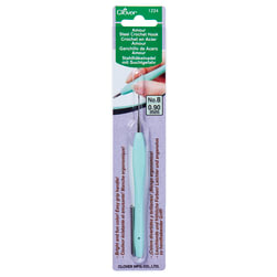 Clover Amour Steel Crochet Hook No. 8 (0.90 mm)