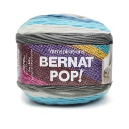 Bernat Pop! Yarn, Blue Streak