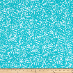 Contempo Abstract Garden Seeds Turquoise