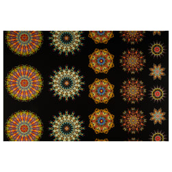 Benartex More is More Medallions 24'' Panel Multi Fabric