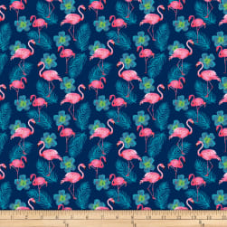 Shannon Studio Digital Minky Cuddle Flamingo Fuchsia