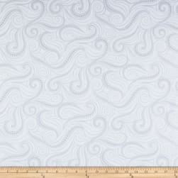Contempo Free Motion Fantasy Flying Geese White