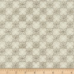 Contempo Words to Live By Trellis Grey Fabric