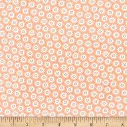 Contempo My Happy Place Dotty Buttons Orange
