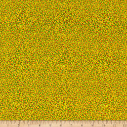 Windham Candy Cane Lane Holly Jolly Yellow Fabric
