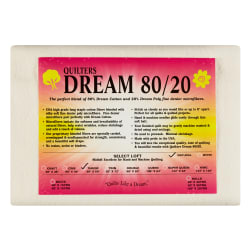 Quilters Dream 80/20 Natural Throw