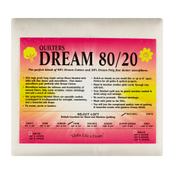 Quilters Dream 80/20 Natural Twin