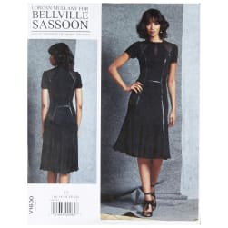 Vogue V1600 Bellville Sassoon Misses' Dress E5 (Sizes