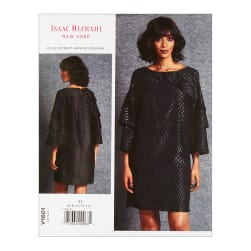 Vogue V1601 Isaac Mizrahi Misses' Dress A5 (Sizes