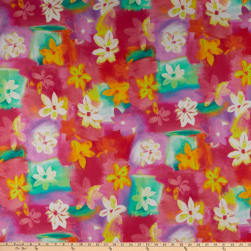QT Fabrics  Callie Floral Abstract Multi