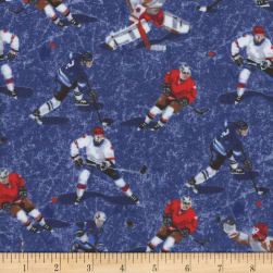 Mook Flannel Hockey Players Navy