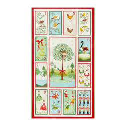 Andover/Makower UK Twelve Days Twelve Days of Christmas Panel Multi Fabric