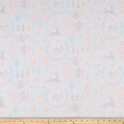 Andover Holiday Crossed Snowflake Fabric