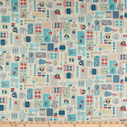 Andover/Makower UK Stitch in Time Montage Multi