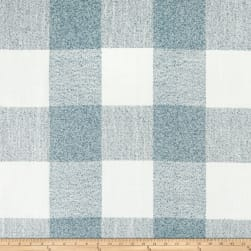 P Kaufmann Indoor/Outdoor Formation Buffalo Check Chambray