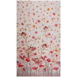 "Timeless Treasures Digital Floral Study 24"" Panel Floral"