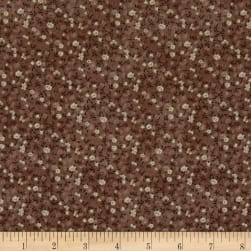 StofDenmark Quilters Basic Memory Mini Floral Taupe