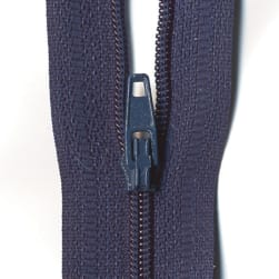 "Sullivans 1"" Make-A-Zipper Navy (2 Pack)"