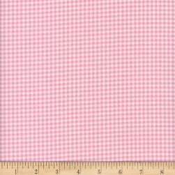 Flannel Gingham Coral