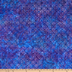 Kaufman Artisan Batiks Greenhouse 4 Knots Purple Fabric