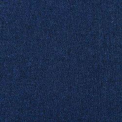 Kaufman Brussels Washer Linen Blend Indigo Fabric