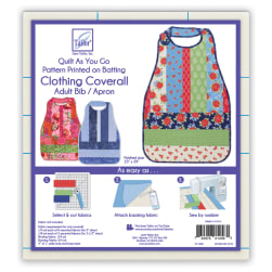 June Tailor Quilt As You Go Coverall, Adult