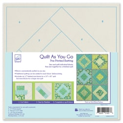 June Tailor Quilt As You Go Pattern Paris