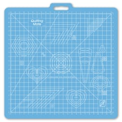 June Tailor 23'' x 23'' Grid - Quilting Mate with Templates Mat
