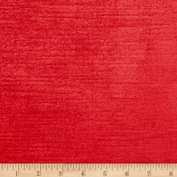 Elegance Cotton Blend Velvet Red