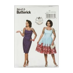 Butterick B6453 Patterns by Gertie Princess Dresses,
