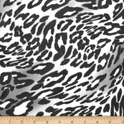Michael Miller Minky Wild Panther Charcoal Fabric