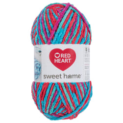 Red Heart Sweet Home Calypso