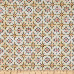Henry Glass Count Your Blessings Foulard Hexes Cream