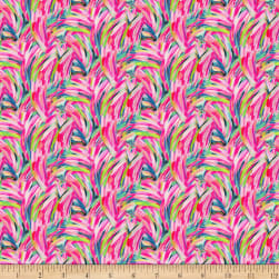 Paintbrush Studio Fabulous Flamingos Feather Strokes Hot Pink
